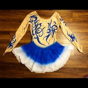 Dresses & Skirts - Figure skating ice skating competition dress